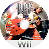 Guitar Hero 5 Wii disc (SXEP52)