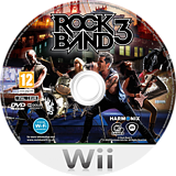 Rock Band 3 Wii disc (SZBP69)
