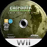 Call of Duty: Modern Warfare: Reflex Wii disc (RJAX52)