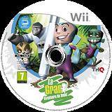 La Gran Aventura de Dood Wii disc (SDLP78)