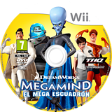 Megamind:El Mega Escuadrón Wii disc (SMGP78)