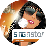 SingIt Star POP 2009 CUSTOM disc (SP9P4Q)