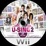 U-Sing 2 Wii disc (SU3SMR)