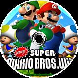 Newer Super Mario Bros. Wii disque CUSTOM (NWRP01)