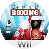 Don King Boxing disque Wii (R2KP54)