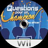 Questions pour un champion:Le jeu officiel disque Wii (R57FMR)