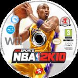 NBA 2K10 disque Wii (R76P54)
