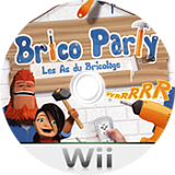 Brico Party: Les As du Bricolage disque Wii (R9EPNP)