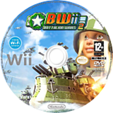 BWii : Battalion Wars 2 disque Wii (RBWP01)