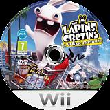 The Lapins Crétins:La Grosse Aventure disque Wii (RGWX41)