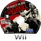 The House of the Dead : Overkill disque Wii (RHOP8P)