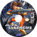 Alien Syndrome disque Wii (RLSP8P)