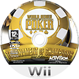World Series of Poker:Tournament of Champions 2007 Edition disque Wii (RPKP52)