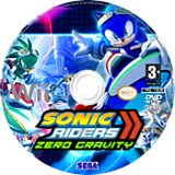 Sonic Riders : Zero Gravity disque Wii (RS9P8P)