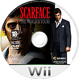 Scarface : The World Is Yours disque Wii (RSCP7D)