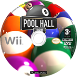 Pool Hall Pro disque Wii (RURPPL)