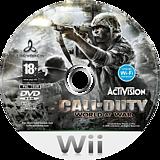 Call of Duty:World at War disque Wii (RVYD52)