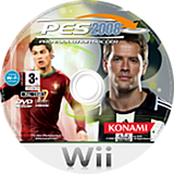 Pro Evolution Soccer 2008 disque Wii (RWEPA4)