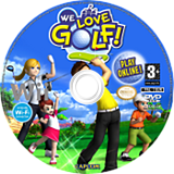 We Love Golf! disque Wii (RWGP08)