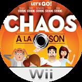 Chaos à La Maison disque Wii (RXHF5D)