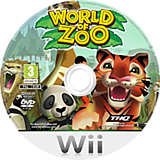 World of Zoo disque Wii (RZOP78)