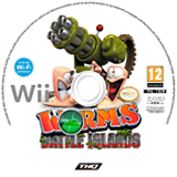 Worms Battle Islands disque Wii (SILP78)