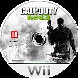 Call of Duty: Modern Warfare 3 disque Wii (SM8D52)