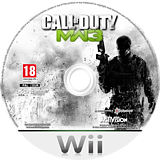 Call of Duty: Modern Warfare 3 disque Wii (SM8P52)