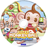 Super Monkey Ball : Step & Roll disque Wii (SMBP8P)