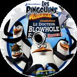 Les Pingouins de Madagascar: Le docteur Blowhole est de retour! disque Wii (SP8P78)