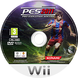 Pro Evolution Soccer 2011 disque Wii (SPVPA4)
