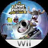 The Lapins Crétins :Retour vers le Passé disque Wii (SR4P41)