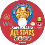 Super Mario All-Stars disque Wii (SVMP01)