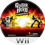 Guitar Hero : World Tour disque Wii (SXAP52)