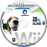The Dog Island Wii disc (RDIP41)