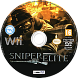 Sniper Elite Wii disc (SSNPHY)