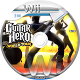 Guitar Hero 4: World Tour Wii disc (SXAP52)