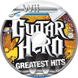 Guitar Hero: Greatest Hits Wii disc (SXCP52)