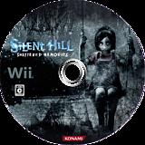 Silent Hill: Shattered Memories Wii disc (R5WJA4)