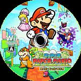 スーパーペーパーマリオ Wii disc (R8PJ01)