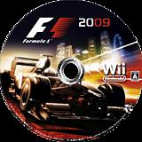 F1 2009 Wii disc (R9FJ36)