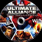 マーベル アルティメット アライアンス Wii disc (RMUJ2K)