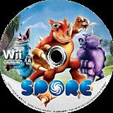 スポア キミがつくるヒーロー Wii disc (RQOJ13)