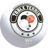 Rockstar Games presents Table Tennis Wii disc (RT3JEL)
