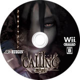 CALLING ~黒き着信~ Wii disc (SCAJ18)