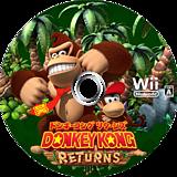 ドンキーコング リターンズ Wii disc (SF8J01)