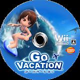 ゴーバケーション Wii disc (SGVJAF)