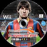 ウイニングイレブン プレーメーカー 2011 Wii disc (SW4JA4)