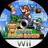 슈퍼 페이퍼 마리오 Wii disc (R8PK01)