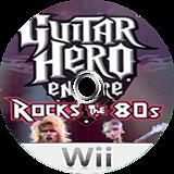 Guitar Hero III Custom:Rock The 80's CUSTOM disc (CGHE99)